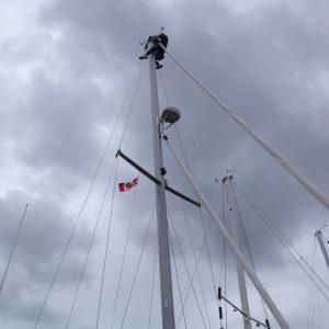 Deb fixing anchor light